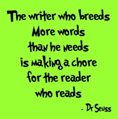 "Yes!!! I will stand by this, even if my novels are considered ""short."" :) No boring, no unnecessary distractions - that's my philosophy!"