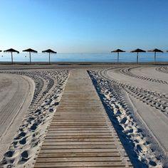 Desde San Pola Turismo nos llega esta foto preciosa de la playa del paraiso