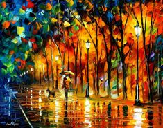 (new) My Best Friend — PALETTE KNIFE Oil Painting On Canvas by AfremovArtStudio, $239.00