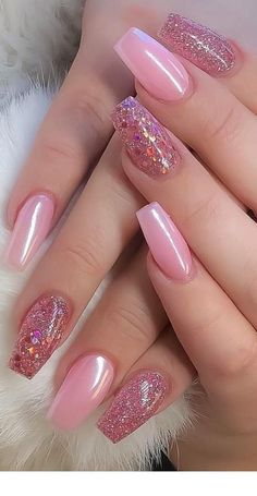 Top 100 acrylic nails designs from may 2019 - page 9 of 99 - nails - . - Top 100 acrylic nail designs of may 2019 – page 9 of 99 – nails – … – – - Gold Nail Art, Pink Acrylic Nails, Pink Nail Art, Pink Nail Polish, Rose Gold Nails, Acrylic Nail Art, Pink Nails, Red Nail, French Nail Designs