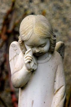"""Angel Girl statue """"wipe away your tears"""" Cemetery Angels, Cemetery Art, Cemetery Statues, Cemetery Headstones, Statue Ange, I Believe In Angels, Ange Demon, Angels Among Us, Angels In Heaven"""