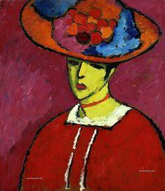 Alekséi von Jawlensky: Expresionismo, fauve y Der Blaue Reiter - TrianartsTrianarts