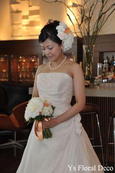 昨年11月に北青山のAQUAVVITさんでウェディングパーティをなさった新婦さんより、当日のお写真をいただきましたので、ご紹介いたします。後ろからのアップ...