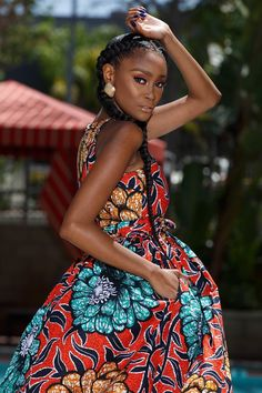 Best latest african fashion look African Fashion Designers, African Inspired Fashion, African Print Fashion, Africa Fashion, Fashion Prints, Ankara Fashion, Fashion Outfits, African Prints, Fashion Styles