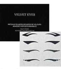 Dior Backstage Eyeliner-To-Wear-Multi-Wear Adhesive Eyeliner Patches How To Do Eyeliner, Simple Eyeliner, Winged Eyeliner, Pencil Eyeliner, Dior Makeup, Eye Makeup, Christian Dior, Eyeliner Shapes, Eye Liner