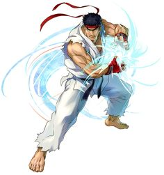 Ryu from Project X Zone 2