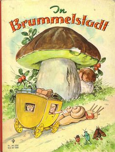 "Fritz Baumgarten (German, 1883-1966):  ""In Brummelstadt"" (publ. 1969)"