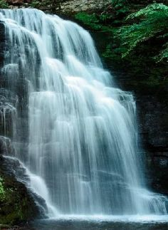 The lovely Bushkill Falls in Monroe County, PA. One of my favorite places to hike!