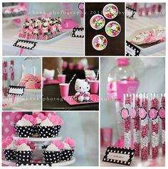 Hello kitty party ideas. my birthday is in april :)