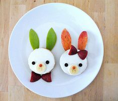 Easter Bunny Bagels