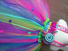 Candyland tutu Vestido de Candy land tierra Vestido de dulces