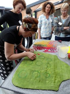 It was a long time in the planning but, in May, I finally got the opportunity to attend a workshop with Hungarian feltmaker, Judit Pocs. The 2-day workshop was impeccably hosted by Truus Huijbregts...