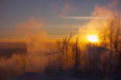 Ski Bromont Skiing, Celestial, Sunset, Photos, Outdoor, Life, Beautiful, Ski, Sunsets