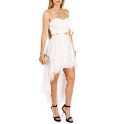 Annette- White Prom Dress