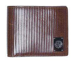 kleine Münzbörse, Rindsleder, Marke DIESEL, schwarz, militärgrün, Logo aus Metall, 7x7x1cm. 1 Münzfach mit Druckknopf