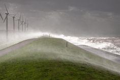 Storm in Holland, October 28th 2013. Gerko van Kampen