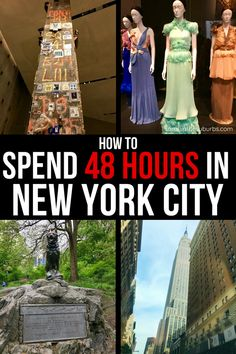 Taking a quick trip to NYC? There is so much to do and see in New York City. What should you do with your time? I've got some great ideas to make the most of your 48 hours in New York City! Nyc With Kids, Travel With Kids, Family Travel, Quick Travel, Travel Tips, Travel Hacks, Travel Destinations, Weekend Trips, Vacation Trips