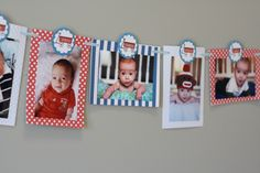 Beckham's Red Wagon 1st Birthday Party « Project Nursery