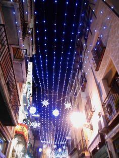 Calle Cervantes. Navidades 2015