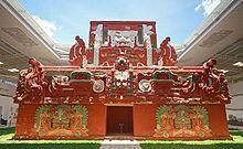Maya site of Copan in Honduras