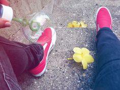 bubble + flower