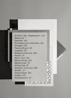 toomanydesign:  Ich / Buchstabendrescher etc. Photographie: Scheltens  Abbenes, Amsterdam