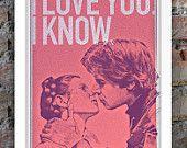 Star Wars Inspired Print (Heroes Series: HAN SOLO) A3. $30.00, via Etsy.