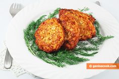 The Rice Fritters with Cheese Recipe | Baked Goods | Genius cook - Healthy Nutrition, Tasty Food, Simple Recipes