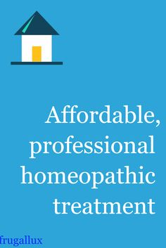 A new way to get professional homeopathic treatment for a fraction of the cost