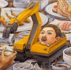 A painting by Tetsuya Ishida (Asian Art Museum)