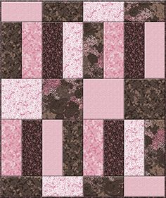 Matt and Ev easy free quilt pattern - Bella Baby Quilt Pattern Quilting Tutorials, Quilting Projects, Sewing Projects, Quilting Ideas, Pallet Projects, Diy Projects, Baby Girl Quilts, Girls Quilts, Pink Quilts