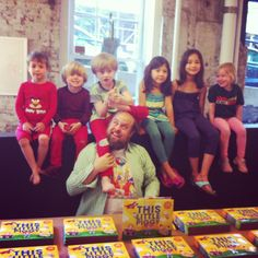 This Little Piggy book signing party with Tim Harrington