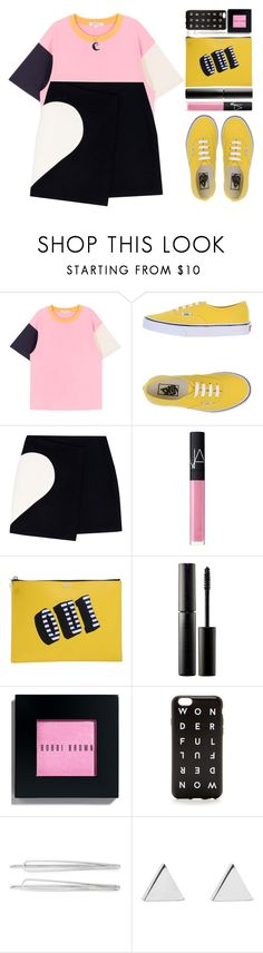 """""""#874 Alice"""" by blueberrylexie ❤ liked on Polyvore featuring Vans, MSGM, NARS Cosmetics, Kenzo, Surratt, Bobbi Brown Cosmetics, J.Crew, Cara, Jennifer Meyer Jewelry and Jewel Exclusive"""