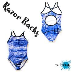 Our Purple Tree Razor Back! This beauty will make any swimmer look awesome in the water! Available at https://www.switchsportswear.com.au/collections/one-piece/products/purple-tree-razor-back