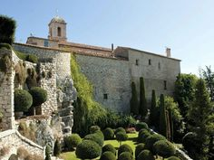 Jardin du Château de Gourdon, Alpes-Maritimes