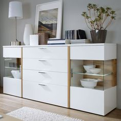 Home Decorating Style 2019 for Lovely Tall Sideboard, you can see Lovely Tall Sideboard and more pictures for Home Interior Designing 2019 at Homedecorlinks. Living Room Tv Unit Designs, Bedroom Cupboard Designs, Dining Room Furniture Design, Home Furniture, Dinning Room Cabinet, Tall Sideboard, Crockery Cabinet, Living Room Decor, Home Decor