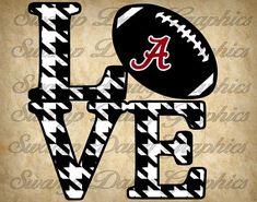 Alabama Love svg alabama roll tide svg by SwampDawgGraphics Crimson Tide Football, Alabama Football, Alabama Crimson Tide, American Football, College Football, Alabama College, University Of Alabama, Alabama Room, Alabama Quilt