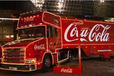 Coca-Cola is bringing its Christmas promotional campaign to Leicester today (December - in the form of a festive lorry. The drinks firm's Christmas lorry will be in Highcross from to as. Big Rig Trucks, Cool Trucks, Coca Cola Christmas, Truck Design, Custom Trucks, Leicester, Volvo, Transportation, Bring It On