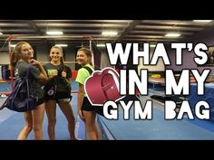 What's in my Gym/Cheer Bag: Cheer/Gymnastics Survival Kit - YouTube