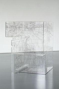 Ausstellung Zeichnung als Haltung Pia Linz