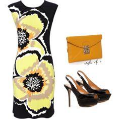 Poppy Flower Dress