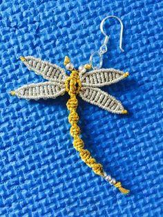 小蜻蜓耳环