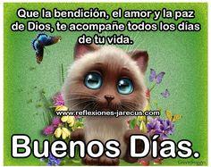 Buenos días, que la bendición de dios te acompañe