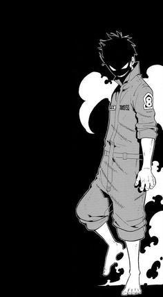 Otaku Anime, Manga Anime, Anime Art, Dark Anime, Shinra Kusakabe, Super Anime, Wallpaper Naruto Shippuden, Anime Demon, Anime Fight
