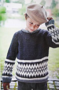 Billedresultat for lett lopi opskrift gratis Jersey Jacquard, Lana, Knitting Patterns, Men Sweater, Turtle Neck, Children, Sweaters, Clothes, Fair Isles