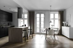 Only Deco Love: Latest project : Oslo Apartment for Sale at Thorvald Meyersgate Apartment Interior Design, Modern Interior Design, Nordic Design, Scandinavian Design, Scandinavian Interiors, Kitchen Gallery, Apartments For Sale, Elle Decor, Home Improvement Projects