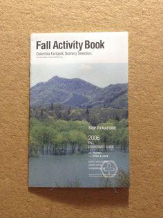 Fall activity book, Columbia fantastic scenery selection
