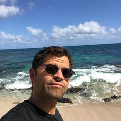 """93.3k Likes, 1,134 Comments - Misha Collins (@misha) on Instagram: """"Too bad about the weather."""""""
