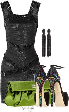 """""""LBD"""" by renee-switzer ❤ liked on Polyvore"""