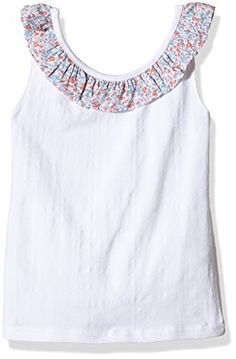 cool Neck & Neck РCamiseta para ni̱a, color Blanco), talla 6A